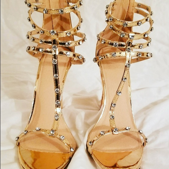 best selling reputable site new specials Shoes | Rose Gold Diamond Heels Sz 8510 | Poshmark